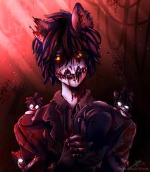 Human nightmare Freddy cuz why not? by 1TheMidnightMoon1