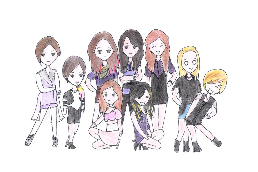 snsd the boys chibi by sdbvh