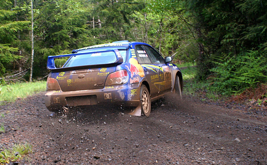 Pastrana at Olympus Rally by qmorley