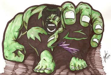 Hulk by RogerPrice00x