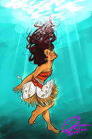 MOANA by ThePieSeas