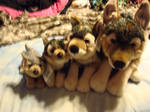 Leosco plush wolf collection
