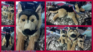 Uni Toy German Shepherd 24in by Vesperwolfy87