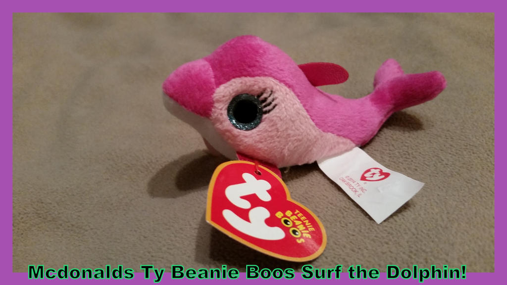 017358538af Mcdonalds Ty Beanie Boo Surf Dolphin! By Vesperwolfy87 On