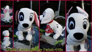 Kohls Cares Disney 101 Dalmatians Patch 11in