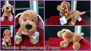 Webkinz Gingerbread Puppy