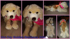 Unitoy Golden Retriever 24in by Vesperwolfy87