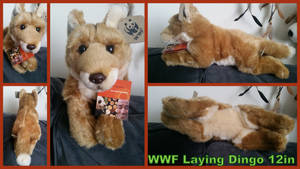 WWF Laying Dingo 12in