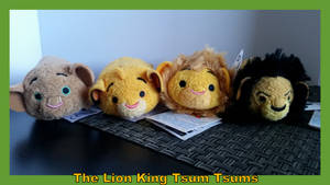 The Lion King Tsum Tsums