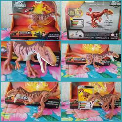Mattel Jurassic World Monolophosaurus Figure by Vesperwolfy87