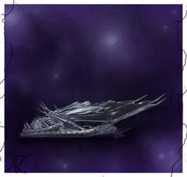 A Sleeping Silver by AdnamaSilverstone