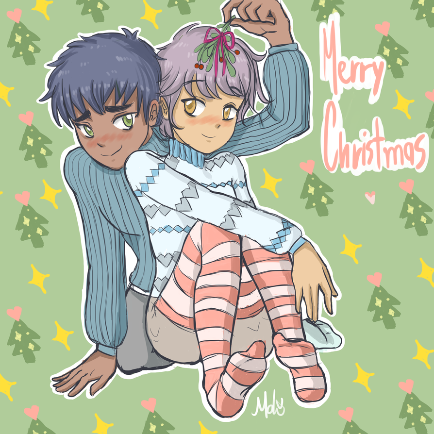 Merry Christmas  ~ by YoruTheCat