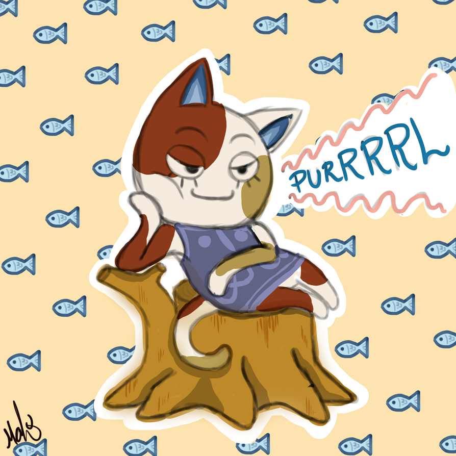 New Love: Purrl by YoruTheCat