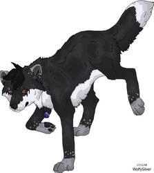 WolfySilverSonic Prance by wolfysilver