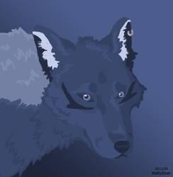 Blue Arrow Icon by wolfysilver
