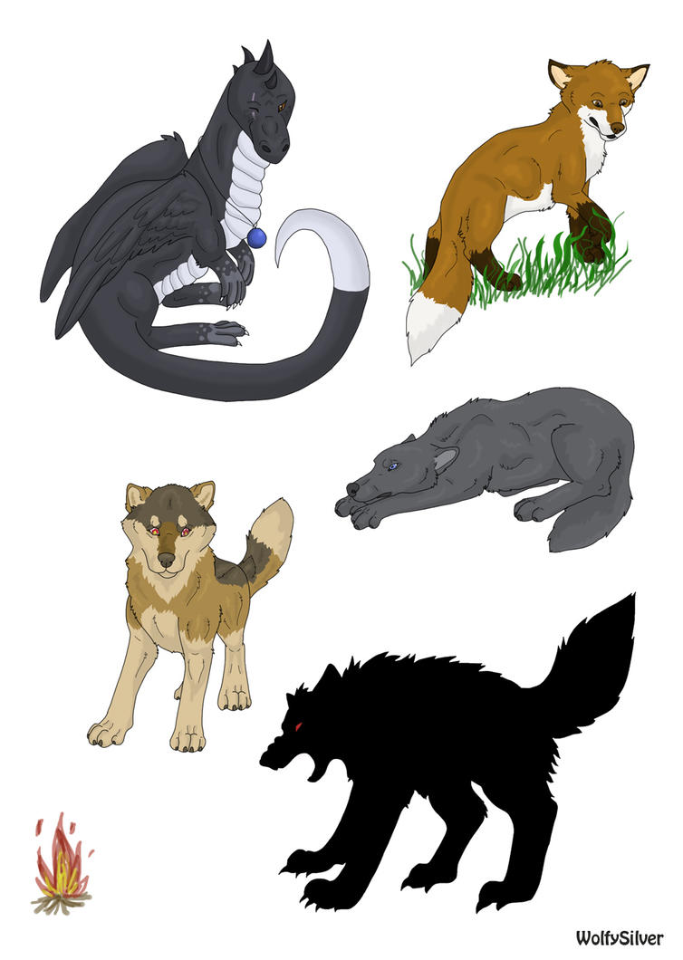Wolf Mountain Images by wolfysilver