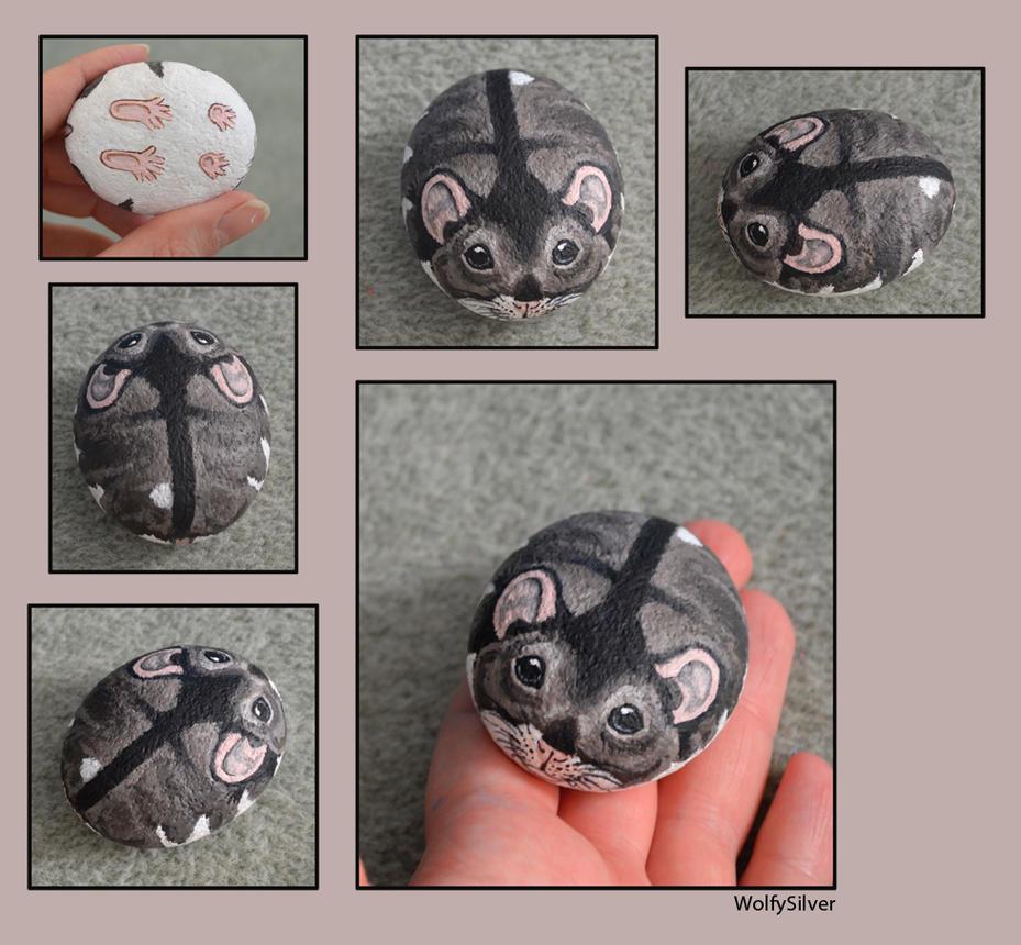 Russian Dwarf Hamster Stone by wolfysilver