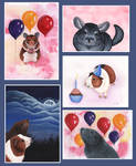New Greetings Card Designs by wolfysilver