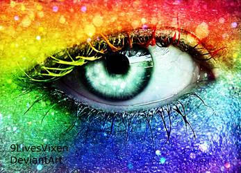 Over The Rainbow by 9LivesVixen