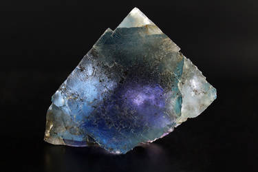 Blue and Purple Zoned Fluorite