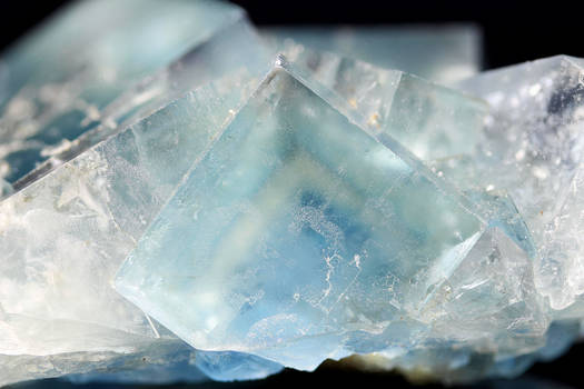 French Blue Fluorite (close-up)