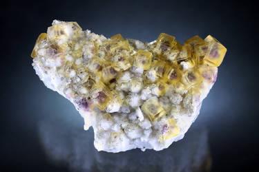Fluorite - Sauberg Mine