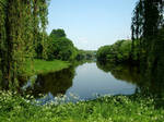 Mukhavets river in Brest by Anny78
