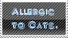 Cat Allergy Stamp by Pipasaurus