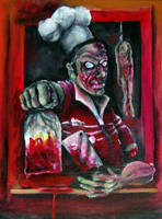Zombie Drive Thru by justintcoons