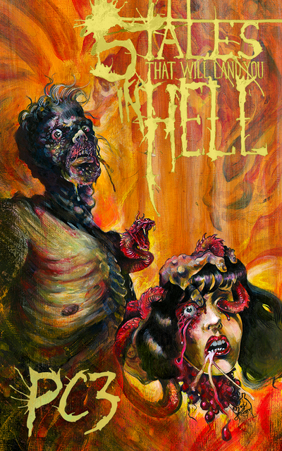 5 TALES THAT WILL LAND YOU IN HELL by justintcoons