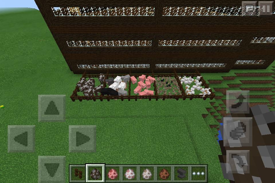 the minecraft farm: animal pens by arbiter7734 on DeviantArt