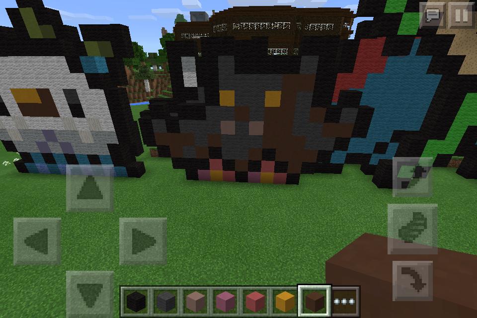 minecraft-pokemon: pumpkaboo pixel-art by arbiter7734 on