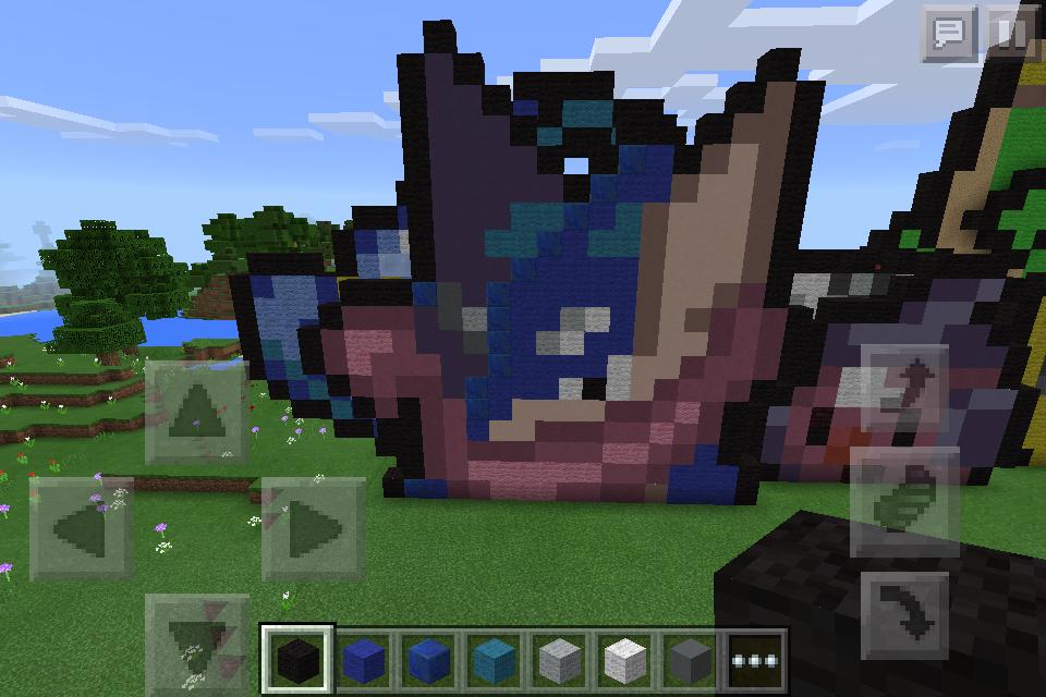 minecraft-pokemon: greninja pixel-art by arbiter7734 on