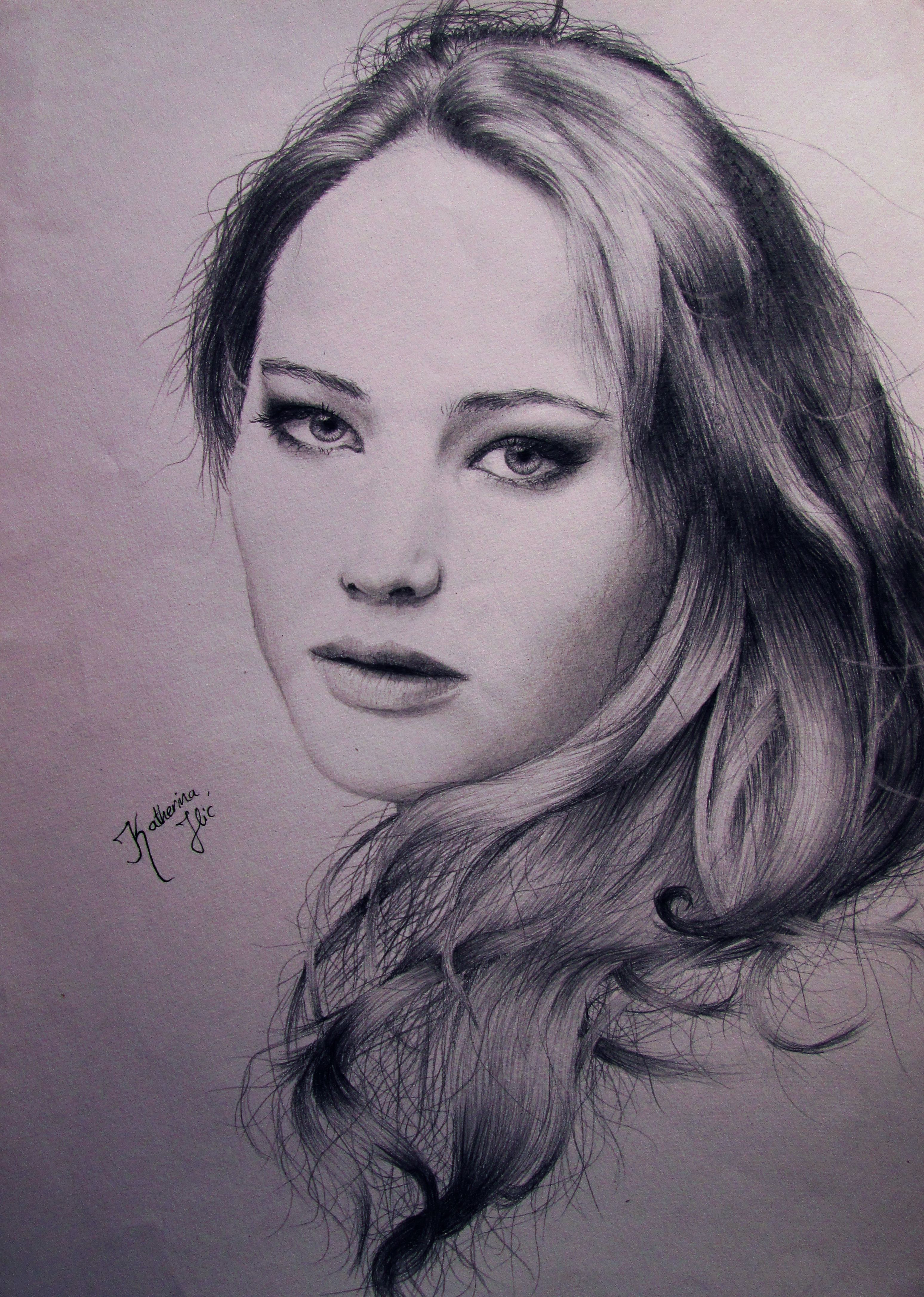 Jennifer Lawrence by KatherinaIlic