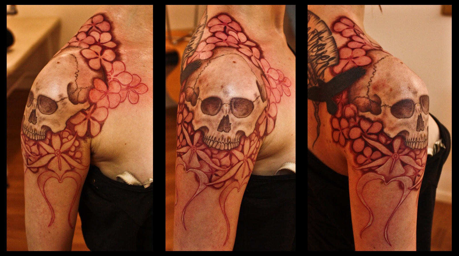 WiP Skull Part 2 by Meatshop-Tattoo