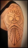Tiwas mask by Meatshop-Tattoo