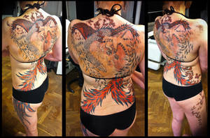 Phoenix project update WiP by Meatshop-Tattoo