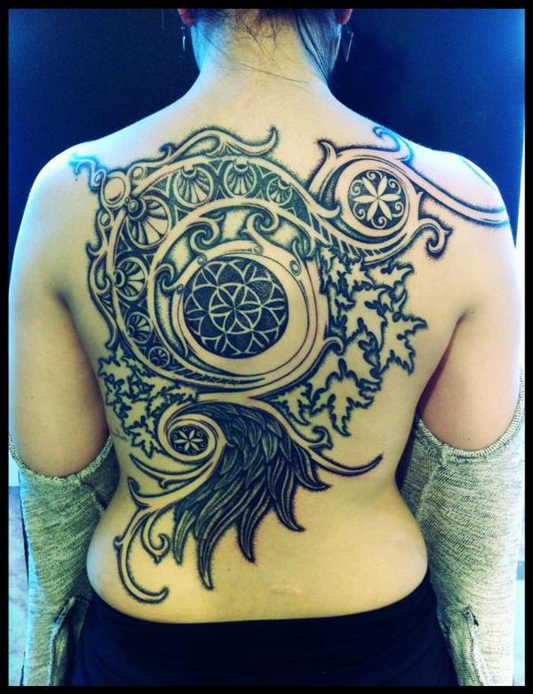 World of Warcraft Moongoddess tattoo