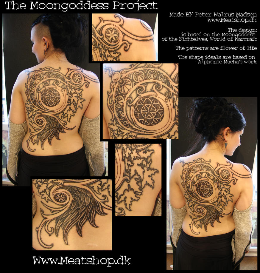 Moongoddess close-ups and all that by Meatshop-Tattoo