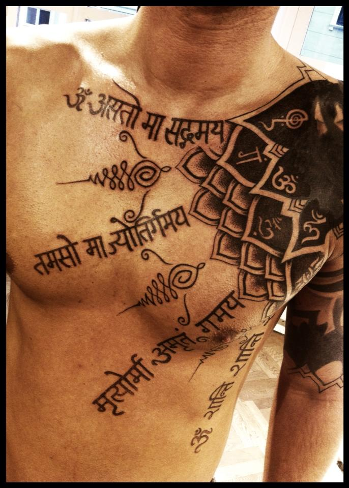 156e2285b A mantra of peace and happiness by Meatshop-Tattoo on DeviantArt