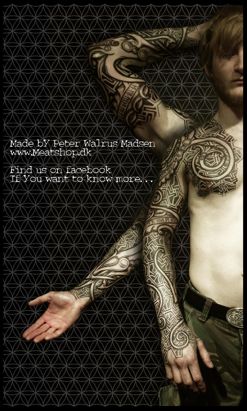 Nordic urnes armor by Meatshop-Tattoo