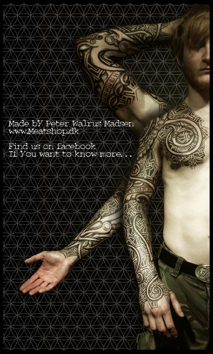 Nordic urnes armor by Meatshop-Tattoo
