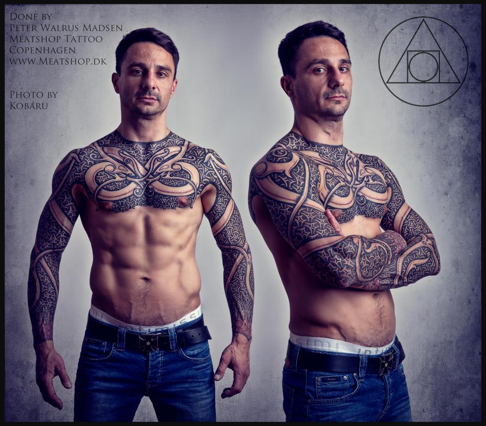 Armor of Wyrms tattoo by Meatshop-Tattoo