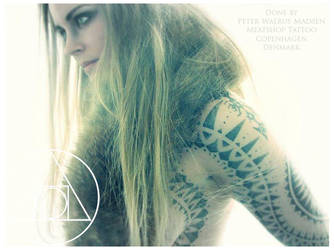 Nordic primitive tattoo by Meatshop-Tattoo
