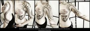 Nordic primitive tattoo full