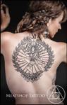 The Dancing Lord Shiva tattoo