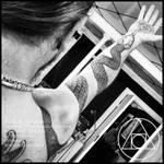 Snakecharmer sleeve tattoo