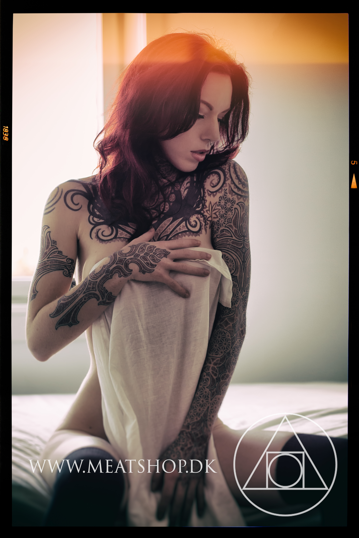 Linnea Thomasia in the fade by Meatshop-Tattoo