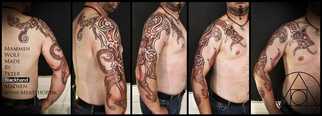 Mammen wolf, by Peter Blackhand by Meatshop-Tattoo