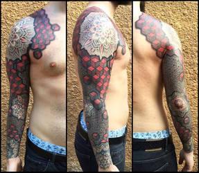 Geometric 3d sleeve